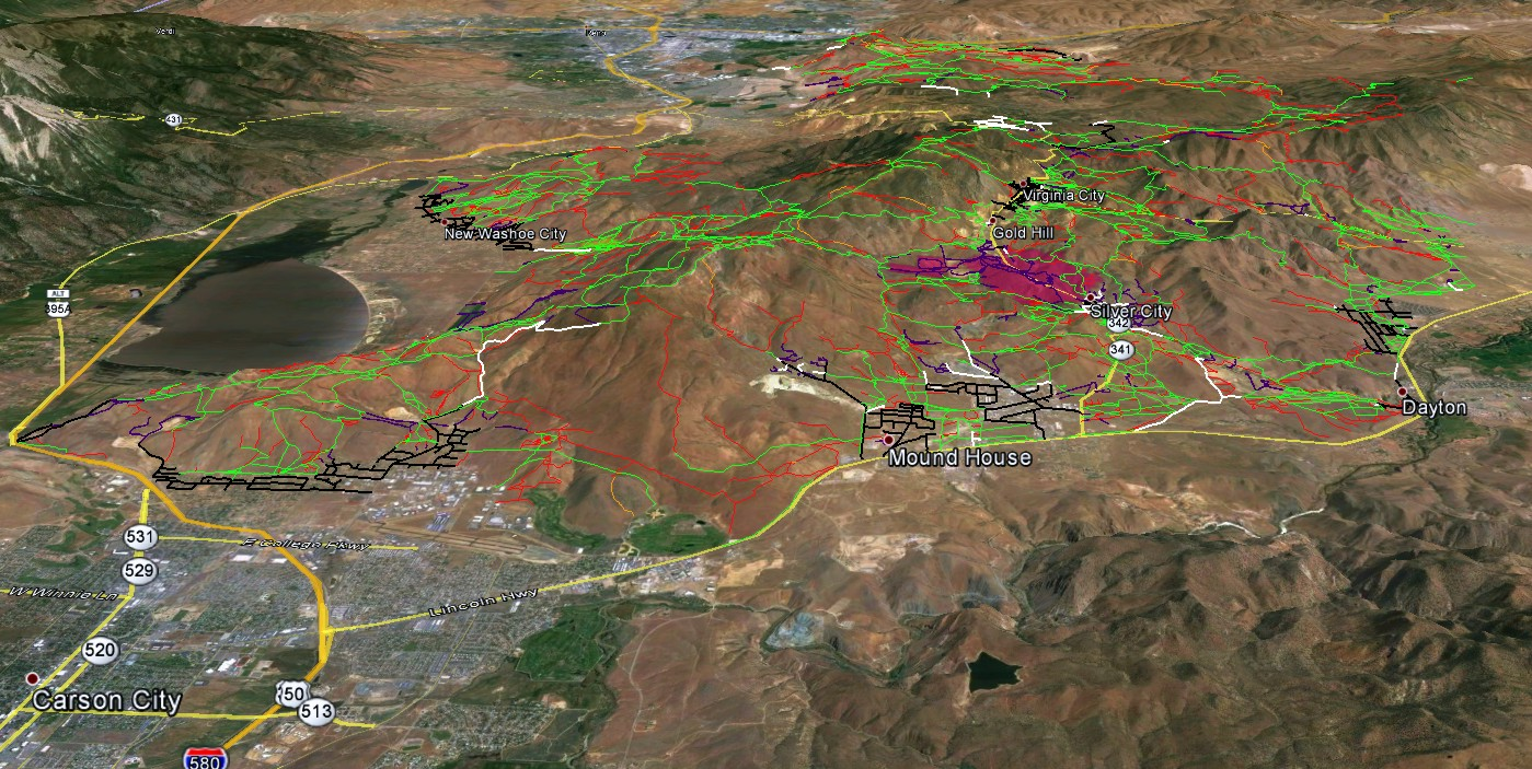 Nevada OHV Maps