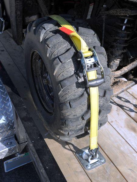 Wheel Tie Downs For Utv Image Of Tie